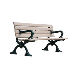HBSP-R-A Bench | Exterior benches | Maglin Site Furniture