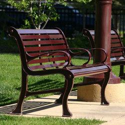 Lexicon Bench | Exterior benches | Maglin Site Furniture