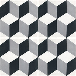 Cement Tile Harlequin | Dalles de béton | Original Mission Tile