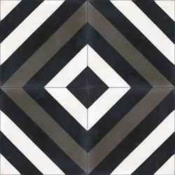 Cement Tile Ligne Brisee | Concrete tiles | Original Mission Tile