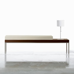 Tiro Occasional Tables & Benches | Bancos de espera | Nucraft