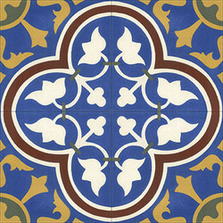 Cement Tile Roseton | Baldosas de suelo | Original Mission Tile