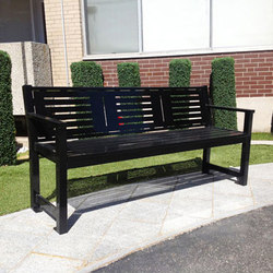 MLB400-M-L1 Bench | Panche | Maglin Site Furniture