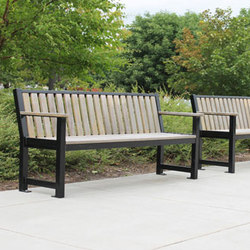 MLB400 Bench | Exterior benches | Maglin Site Furniture