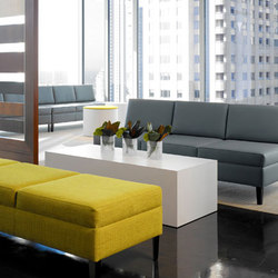 Ciji Seating Collection | Waiting area benches | Gunlocke