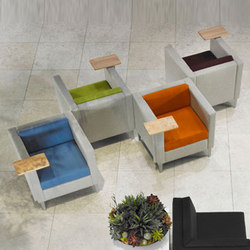 Ciji Seating Collection | Poltrone lounge | Gunlocke