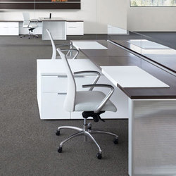 Silea Open Office | Systèmes de tables de bureau | Gunlocke