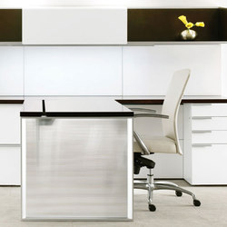 Silea Private Office | Individual desks | Gunlocke