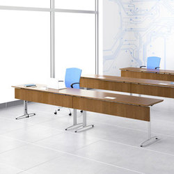 Trio Training Tables™ | Mesas de conferencias | Gunlocke
