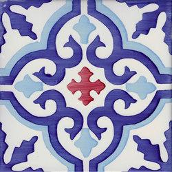 LR PO Essaouira blu oceano carminio | Keramik Fliesen | La Riggiola
