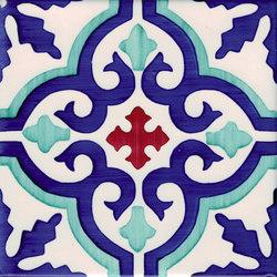 LR PO Essaouira verde ramina carminio | Floor tiles | La Riggiola