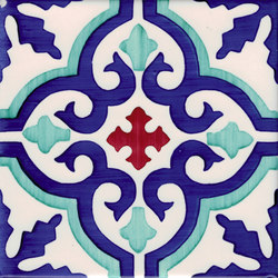 LR PO Essaouira verde ramina carminio | Piastrelle ceramica | La Riggiola