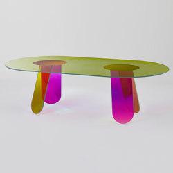 Shimmer dining | Tavoli da pranzo | Glas Italia