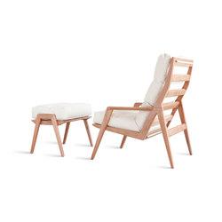 Ana Lounge Chair / Footstool   Armchairs   Sossego