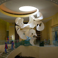 Custom Sculpture | Education City, Doha Qatar | General lighting | Studio Lilica