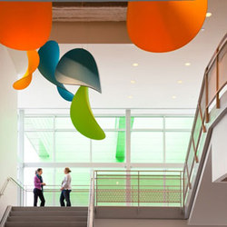 Custom Sculpture | Houston Food Bank | General lighting | Studio Lilica