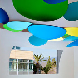 Custom Sculpture | Pasadena Museum of California Art | General lighting | Studio Lilica
