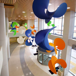 Custom Sculpture | Sutter Memorial Hospital | General lighting | Studio Lilica