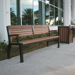 MLB700-W-A Bench | Exterior benches | Maglin Site Furniture
