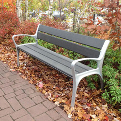 MLB870-PCC Bench | Exterior benches | Maglin Site Furniture