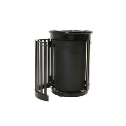 MLWR250S-32-ST Side Opening Trash Container | Exterior bins | Maglin Site Furniture