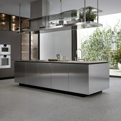 Artex | Island kitchens | Poliform