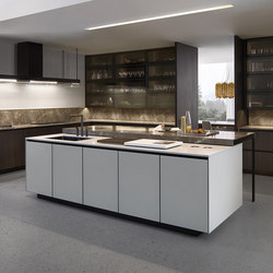 Arthena | Island kitchens | Varenna Poliform