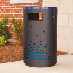 MLWR650-32-M-L5-LBE Trash Container | Exterior bins | Maglin Site Furniture