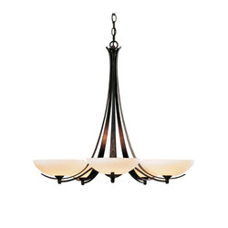Aegis 5 Arm Chandelier | Lámparas de techo | Hubbardton Forge