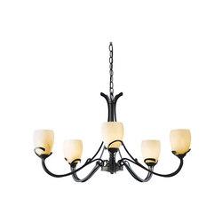 Aubrey 5 Arm Chandelier | Lámparas de techo | Hubbardton Forge