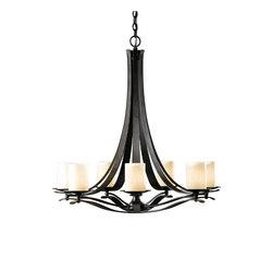 Berceau 7 Arm Chandelier | Ceiling suspended chandeliers | Hubbardton Forge