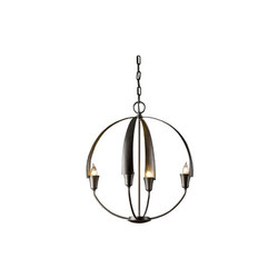Cirque Small Chandelier | Ceiling suspended chandeliers | Hubbardton Forge
