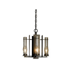 New Town 4 Arm Chandelier | Ceiling suspended chandeliers | Hubbardton Forge