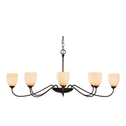 Oval Large 8 Arm Chandelier | Deckenlüster | Hubbardton Forge