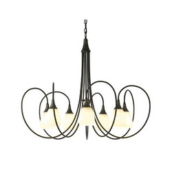 Picoh 7 Arm Chandelier | Ceiling suspended chandeliers | Hubbardton Forge