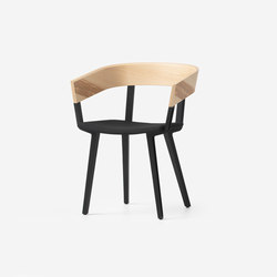 Odin Chair Natural Upholstered | Chaises de restaurant | Resident