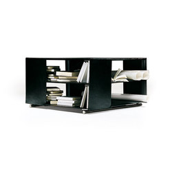Groundpiece shelves/box | Mesas auxiliares | Flexform