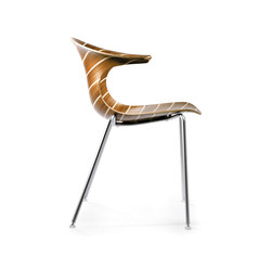 Loop 3D Vinterio | Visitors chairs / Side chairs | Infiniti Design