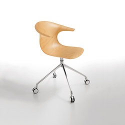 Loop 3D Wood | Visitors chairs / Side chairs | Infiniti Design