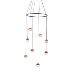 Dora PC8 Pendant Lamp | Suspensions | SEEDDESIGN