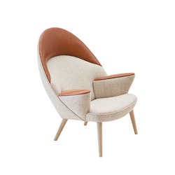 pp521 | Upholstered Peacock Chair | Loungesessel | PP Møbler