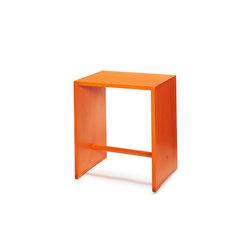 Bill | Ulmer Stool birch | bright orange | Night stands | wb form ag