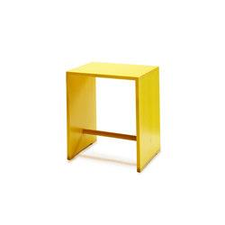 Bill | Ulmer Stool birch | lemon yellow | Night stands | wb form ag