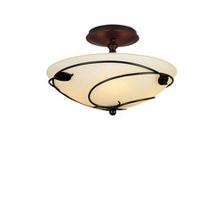 Forged Leaves Semi-Flush | Allgemeinbeleuchtung | Hubbardton Forge