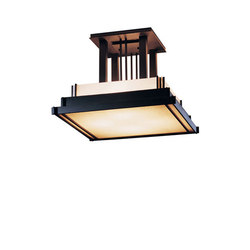 Steppe Large Semi-Flush | General lighting | Hubbardton Forge