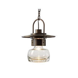 Mason Large Outdoor Ceiling Fixture | Pendant lights | Hubbardton Forge