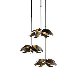 Corona Triple Canopy Pendant | Éclairage général | Hubbardton Forge