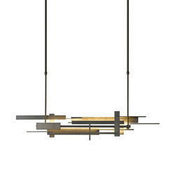 Planar Large LED Pendant | General lighting | Hubbardton Forge