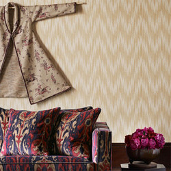 Antique Flamestitch | Carta da parati | Zoffany