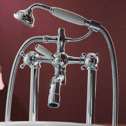 Fairfield deck mounted bath shower mixer | Bath taps | Samuel Heath